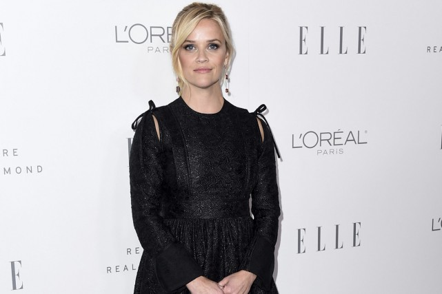 Reese Witherspoon sur le tapis rouge de la... (PHOTO AP)