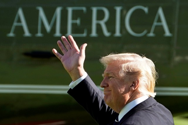 Le président Trump arrive à la 248e place,... (REUTERS)