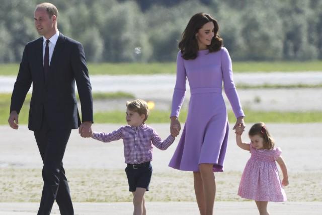 Le prince William et son épouse sont déjà... (PHOTO archives AFP)