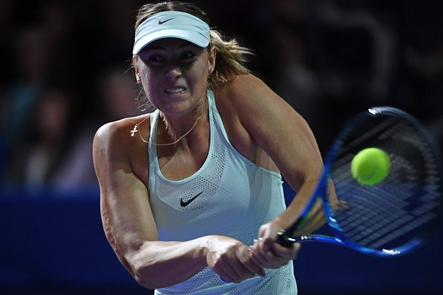 Maria Sharapova... (Photo Yuri Kadobnov, AFP)