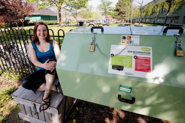 Coordonnatrice de la Semaine québécoise de réduction des... (PHOTO ALAIN ROBERGE, LA PRESSE)