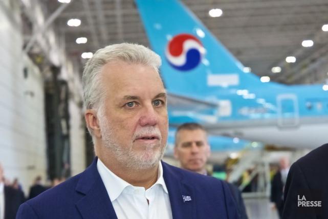 Selon le premier ministre Philippe Couillard, Bombardier n'avait... (Photo André Pichette, archives La Presse)