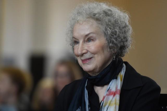 La romancière, poète et auteure d'essais critiques canadienne... (PHOTO AFP)