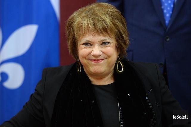 La ministre de l'Enseignement supérieur et de la... (Photo Erick Labbé, Le Soleil)