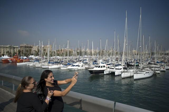 La marina de Barcelone... (PHOTO ARCHIVES AFP)