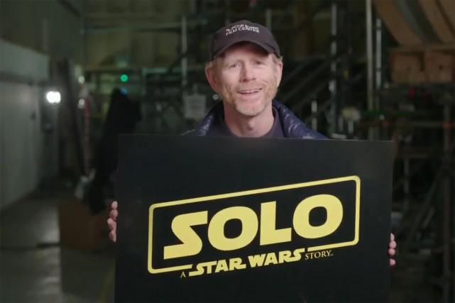 Le film de la saga intersidérale Star Wars dédié aux jeunes années du... (Photo tirée de la vidéo sur Twitter)