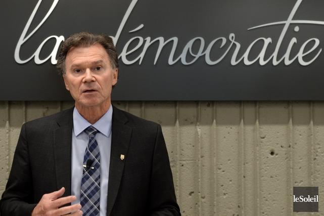 Le Directeur général des élections du Québec (DGEQ),Pierre... (Photo Erick Labbé, Le Soleil)