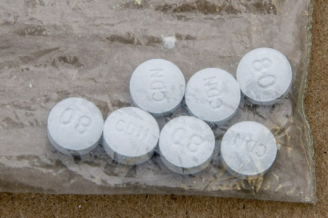 Le fentanyl et d'autres opioïdes auraient été responsables... (PHOTO ARCHIVES LA PRESSE CANADIENNE)