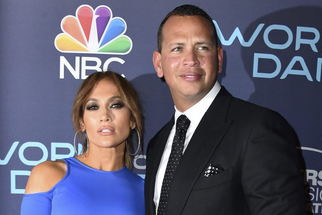 Jennifer Lopez et Alex Rodriguez... (Photo Jordan Strauss, archives AP/Invision)