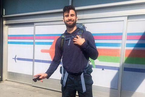 Jesse Galganov, 22 ans, a disparu lors d'un... (Photo fournie parla famille)