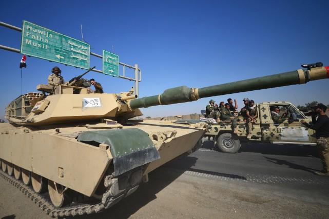 «Il ne s'agit pas d'une opération militaire, mais... (REUTERS)