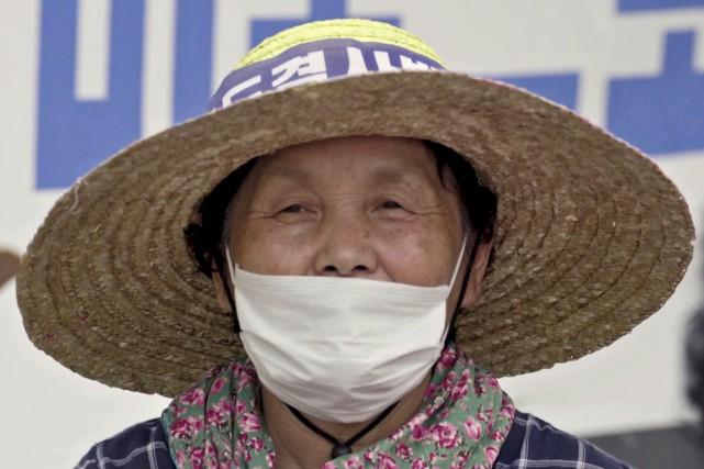 L'installation en Corée du Sud du bouclier antimissile américain devait les... (PHOTO AFP)
