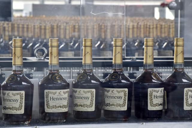 Hennessy, numéro un mondial du cognac, met les... (PHOTO AFP)
