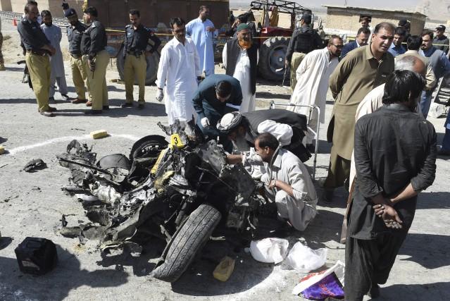 Un responsable de la police de Quetta a... (PHOTO Arshad Butt, AP)
