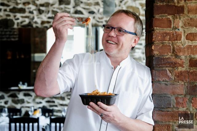 Depuis qu'il habite la Floride, Laurent Godbout mange... (PHOTO ALAIN ROBERGE, LA PRESSE)