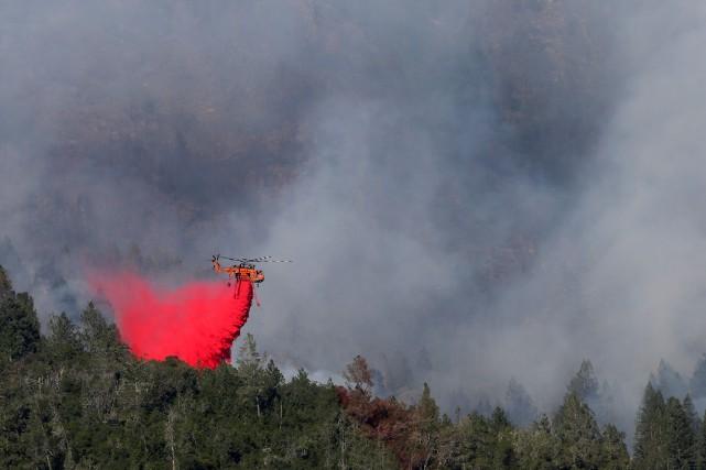 Au total, près de 85000 hectares ont été... (PHOTO Loren Elliott, REUTERS)