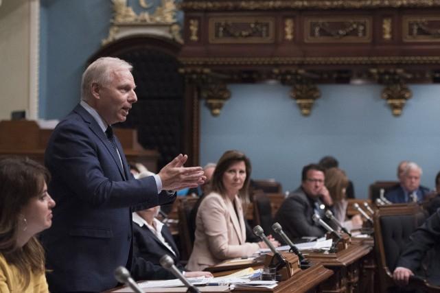 Le chef du Parti québécois, Jean-François Lisée... (PHOTO ARCHIVES LA PRESSE CANADIENNE)