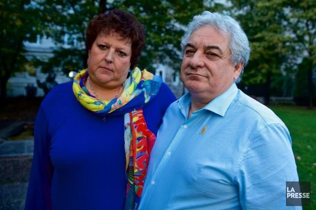 Nathalie Beaulieu et Luc Patry, parents de Clémence... (PHOTO ANDRÉ PICHETTE, ARCHIVES LA PRESSE)