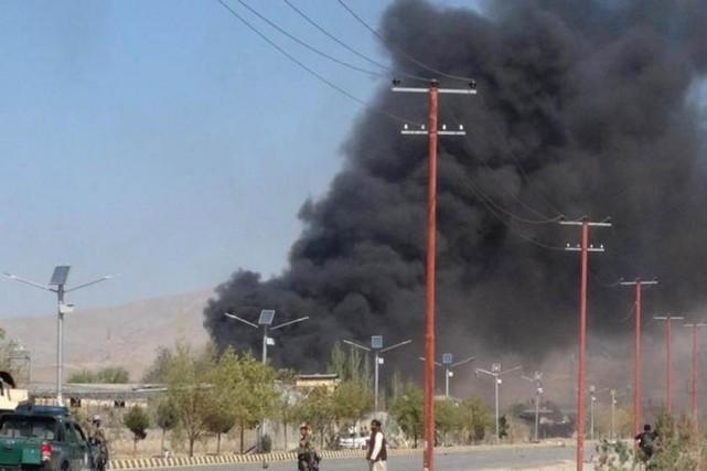 Selon le ministère de la Défense «plus d'une... (Photo The Baghdad Post, via Twitter)