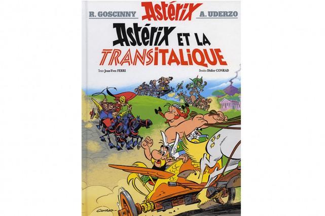 Astérix et la Transitalique... (Image fournie par les éditions Albert René)