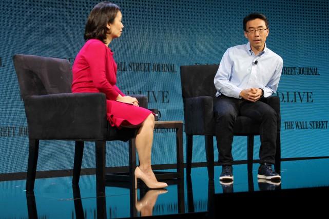 Le patron de Samsung NEXT, David Eun, discute... (AFP)
