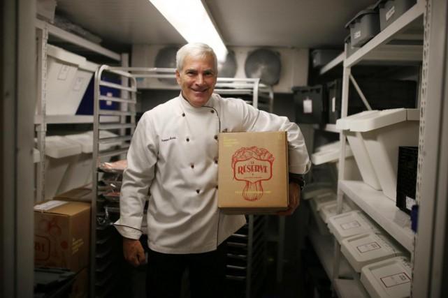 L'Académie culinaire de Montréal lance sa nouvelle gamme... (PHOTO Martin Chamberland, LA PRESSE)