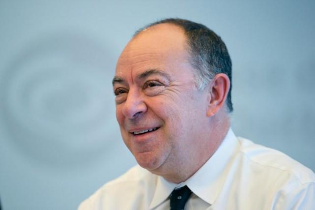 Christian Dubé estpremier vice-président de la Caisse de... (Photo David Boily, La Presse)