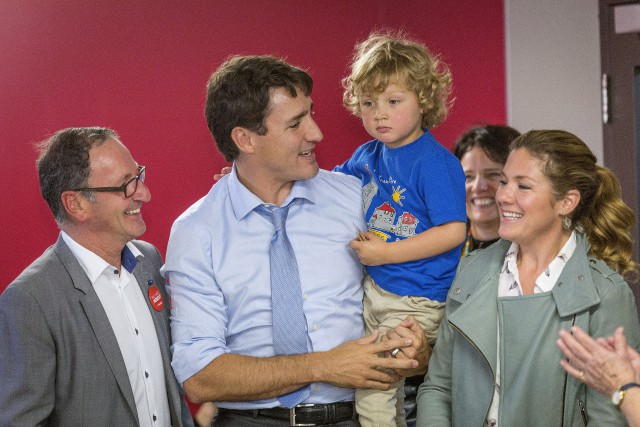 Le premier ministreJustin Trudeau se trouvait au Lac... (Photo Francis Vachon, PC)