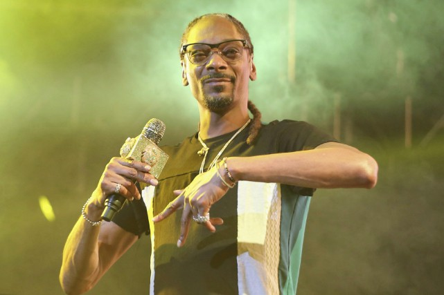 Snoop Dogg à Los Angeles en juin dernier.... (ARCHIVES PC)