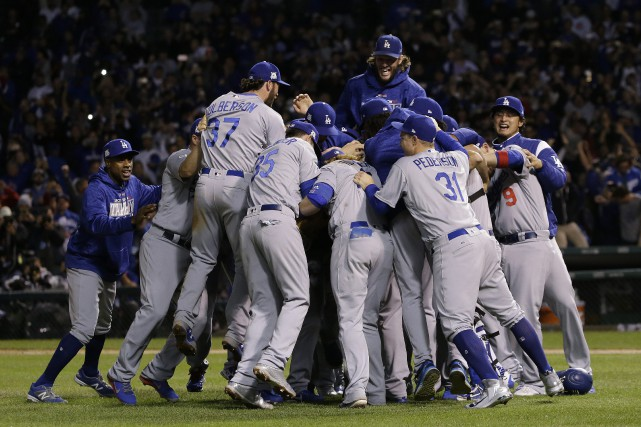 Les Dodgers de Los Angeles ont éliminé les... (PHOTO AP)