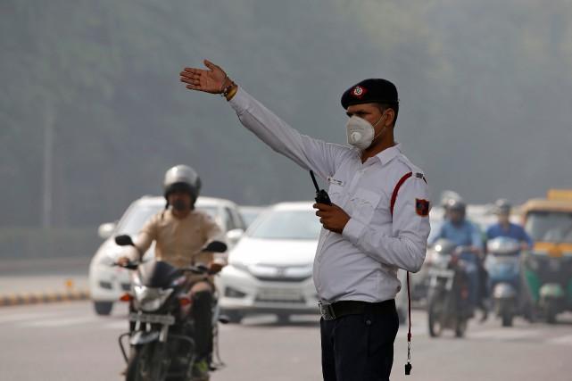 Dans les pays en voie d'industrialisation rapide comme... (Photo Saumya Khandelwal, REUTERS)