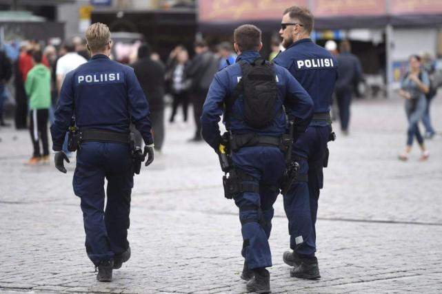 Depuis le début de l'année dernière, la police... (PhotoVesa Moilanen, Agence France-Presse)