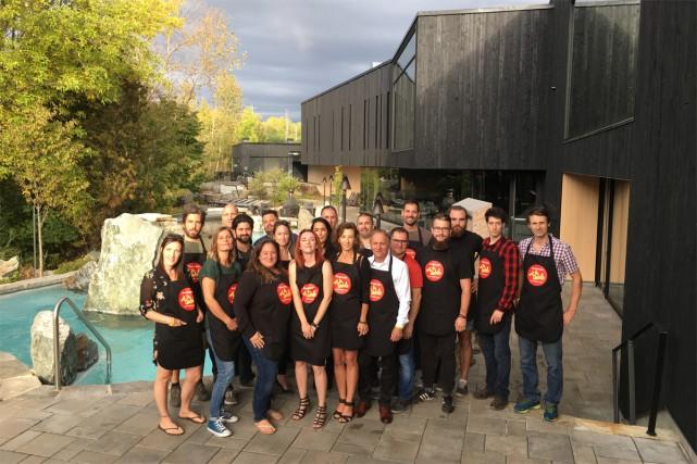 Sherbrooke met la table réunit 21 restaurants cette... (Photo fournie par Sherbrooke met la table)
