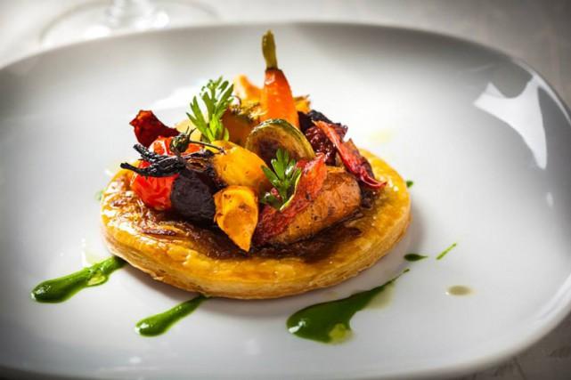 Un plat au menu du restaurant Chambre à... (Photo fournie par MTLàTABLE)