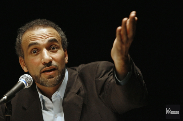 L'islamologue et théologien suisse Tariq Ramadan.... (PHOTO ARCHIVES LA PRESSE)