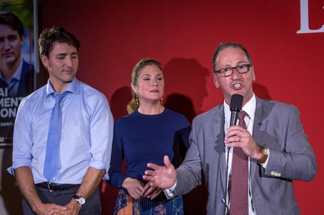 Le premier ministre Justin Trudeau et son épouse... (PHOTO FRANCIS VACHON, ARCHIVES LA PRESSE CANADIENNE)