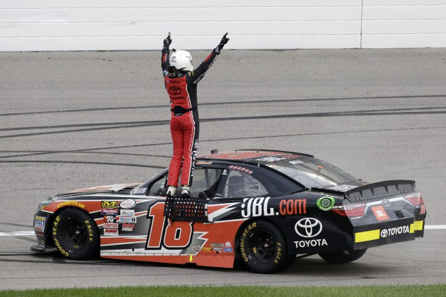 Christopher Bell... (PHOTO Colin E. Braley, AP)