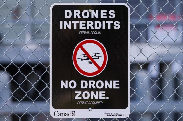 Le nombre d'incidents « préoccupants » liés aux drones au... (Photo Hugo-Sébastien Aubert, La Presse)