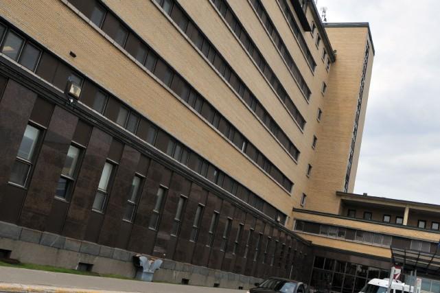 L'hôpital de Jonquière.... (Photo archives)