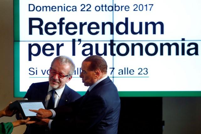 Contrairement à la Catalogne, ce référendum consultatif est... (Photo Reuters)