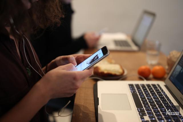 Par le biais d'internet, la consultation appeléeMa voix... (PHOTO Martin Chamberland, LA PRESSE)