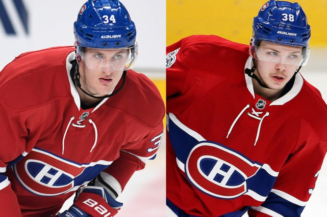 Michael McCarron et Nikita Scherbak.... (ARCHIVES PC)