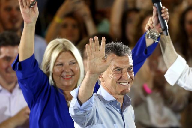 Depuis son élection voici deux ans, Mauricio Macri... (PHOTO REUTERS)