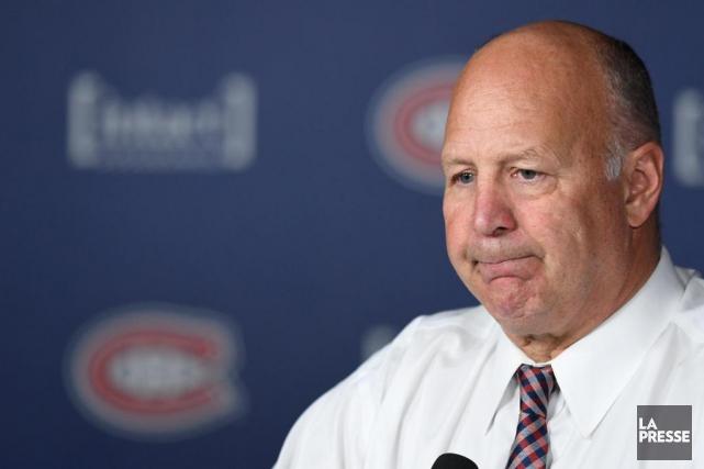 L'entraîneur-chef Claude Julien semble manquer d'explications pour justifier... (PHOTO BERNARD BRAULT, LA PRESSE)
