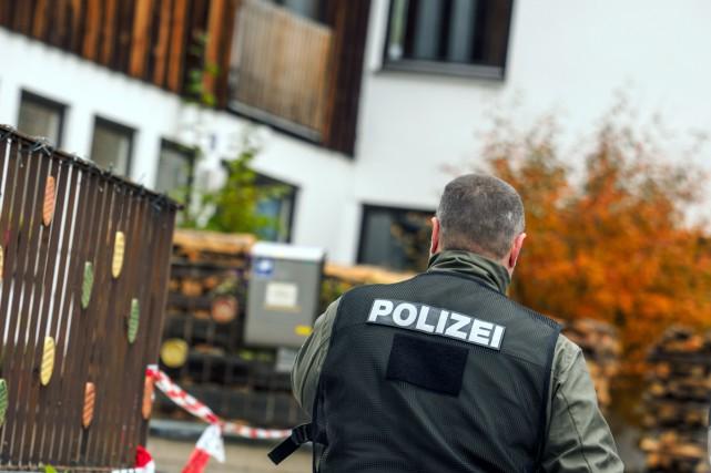 Lors d'un contrôle des forces de l'ordre le... (Photo Nicolas Armer, AFP)