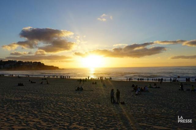 La plage de Bondi est située à 30minutes... (PHOTO AUDREY RUEL-MANSEAU, LA PRESSE)