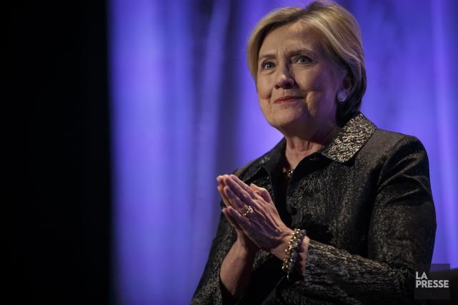 En prenant la parole, Hillary Clinton s'est dite... (PHOTO OLIVIER JEAN, LA PRESSE)