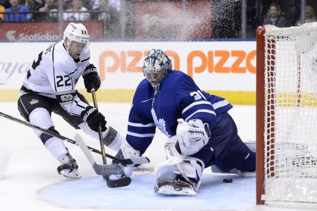 Frederik Andersen a réalisé 36 arrêts et les Maple Leafs de Toronto ont infligé... (PHOTO PC)