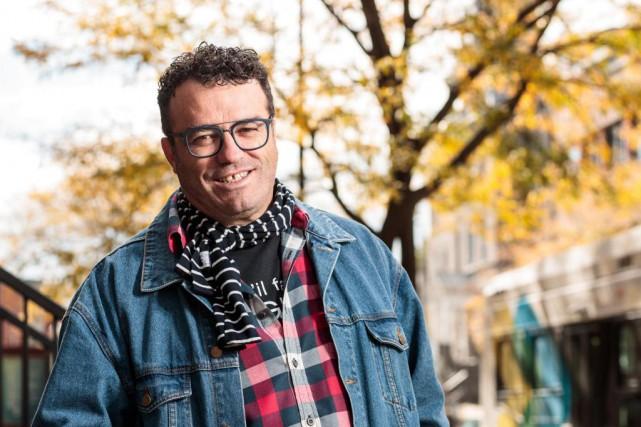Alan Côté,directeur du Festival en chanson de Petite-Vallée... (PhotoHUGO-SÉBASTIEN AUBERT, LA PRESSE)