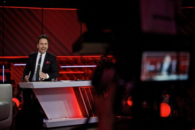 Éric Salvail... (Photo André Pichette, archives La Presse)